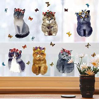 3 D かわいい 動物 リムーバブル バスルーム トイレ 座席ウォール 猫