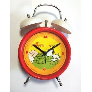 スヌーピー(SNOOPY)の新品   スヌーピーの目覚まし時計(置時計)
