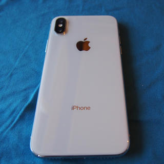 Apple - iphone X 64G シルバー