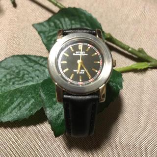 カシオ(CASIO)のT07.腕時計 CASIO STING(ブラックレッド)※レディース(腕時計)