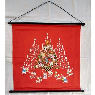 クリスマス 正月 タペストリー