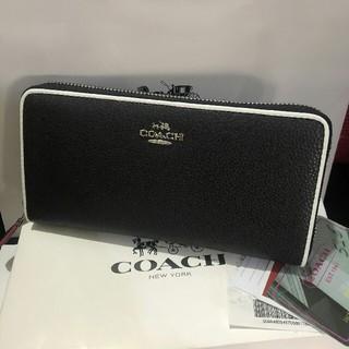 COACH - Coach☆シグネチャー PVC レザー 長財布 国内発送F12585