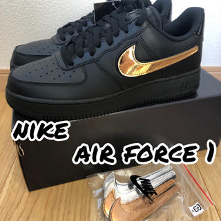 NIKE - NIKE AIR FORCE 1 LV8 BLACK 29㎝