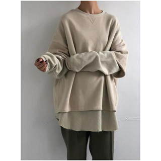 TODAYFUL - TODAYFUL Layered Cotton Sweat