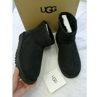UGG - お勧め アグ クラッシックミニ UK7 (24.0cm) ブラック
