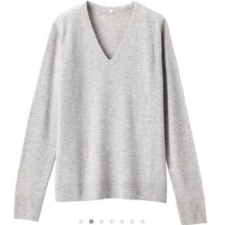MUJI (無印良品) - Vネックセーター