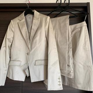 ミッシェルクラン(MICHEL KLEIN)のミシェルクラン レディススーツ三点セット(スーツ)