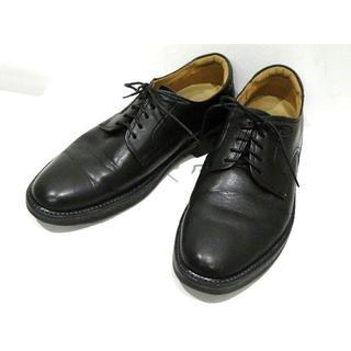 リーガル(REGAL)のリーガル ウォーカーRegalレザー シューズ25cmブラック②(ドレス/ビジネス)