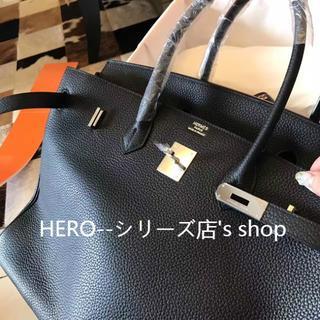 エルメス(Hermes)のエルメスBLACKのシルバーバーキン40(ビジネスバッグ)