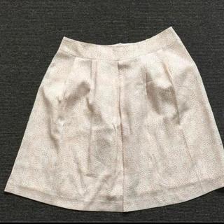 膝丈 スカート 15号 リボン付き(ひざ丈スカート)