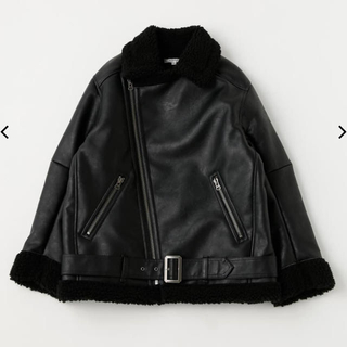 moussy - moussy F/LEATHER OVER SIZED ジャケット