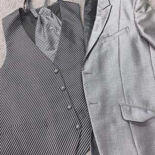 大人気 シルバータキシード 追加サイズ販売(ウェディングドレス)