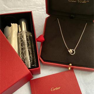 Cartier - [美品]Cartier ラブネックレス WG