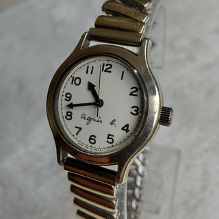 アニエスb 腕時計 レディースクォーツ 新品替えベルト付