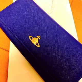 Vivienne Westwood - ヴィヴィアン 青長財布