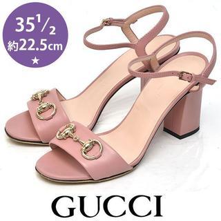 Gucci - 美品❤️グッチ ホースビット サンダル 35 1/2(約22.5cm)