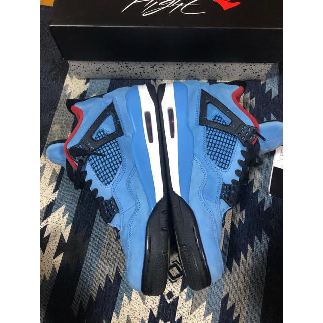 NIKE(ナイキ)のNIKE AIR JORDAN 4 TRAVIS SCOTT27センチ メンズの靴/シューズ(スニーカー)の商品写真