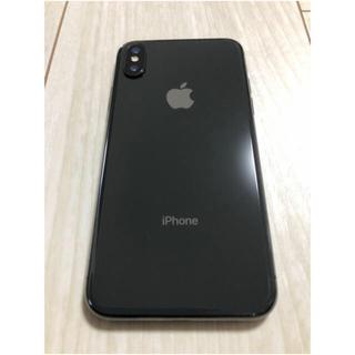 iPhone - iPhone x Space Gray SIMフリー