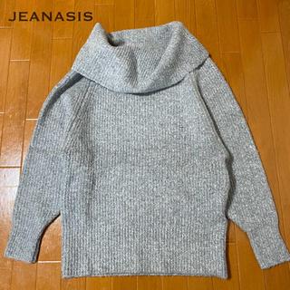 JEANASIS - ♡JEANASIS オフタートルニット