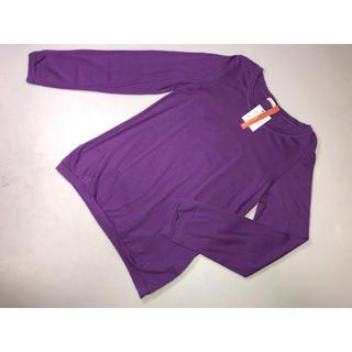 マジェスティックレゴン(MAJESTIC LEGON)の989MAJESTIC LEGONマジェスティックレゴン長袖Tシャツ紫系Mサイズ(Tシャツ(長袖/七分))
