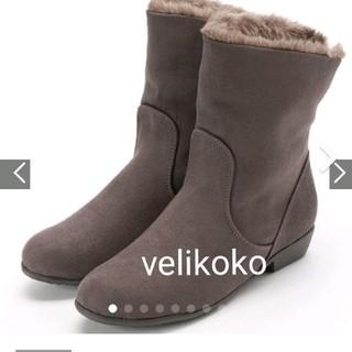 ヴェリココ(velikoko)のヴェリココ ショートブーツ 22.5cm(ブーツ)