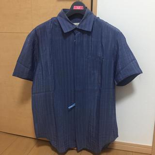 エンポリオアルマーニ(Emporio Armani)のエンポリオアルマーニ  半袖シルク混シャツ(シャツ)