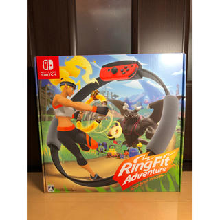 ニンテンドースイッチ(Nintendo Switch)の⭐️12月20日までにお届け⭐️リングフィットアドベンチャー(家庭用ゲームソフト)