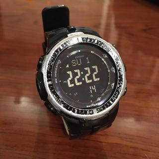 カシオ(CASIO)のカシオ プロトレック PRW-3000  CASIO PRO TREK 電波時計(腕時計(デジタル))