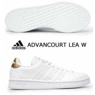 アディダス(adidas)の新品アディダス❤︎アドヴァンコートLEA W(スニーカー)