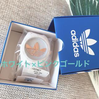 adidas - adidas 腕時計 アディダス時計 ホワイト×ピンクゴールド