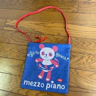 メゾピアノ(mezzo piano)のメゾピアノ    パンダちゃん ポシェット  ニット(ポシェット)