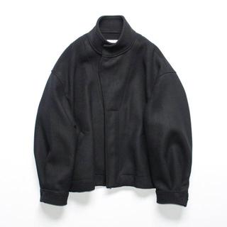 COMOLI - stein 19aw OverSleeve Boa Melton Jacket