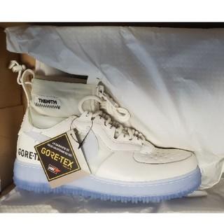 ナイキ(NIKE)の24.5cm Nike AF 1 WTR GORE-TEX白(スニーカー)