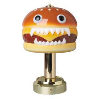 メディコムトイ(MEDICOM TOY)の2点セット UNDERCOVER HAMBURGER LAMP(フロアスタンド)