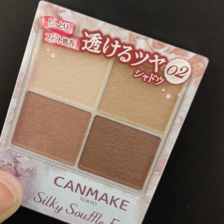 CANMAKE - 02 キャンメイク シルキースフレアイズ 限定色