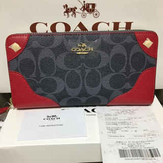COACH - 即日発送 coach長財布53780 正規品 新品