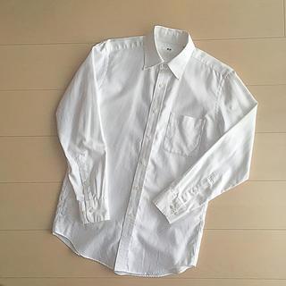 ユニクロ ワイシャツ 白 M