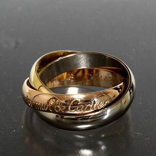 カルティエ(Cartier)のカルティエ cartier トリニティ リング size48 6.8g K18(リング(指輪))