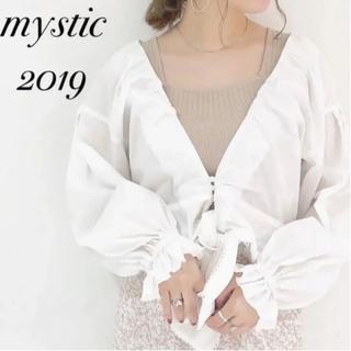 mystic - リボンブラウス/2way