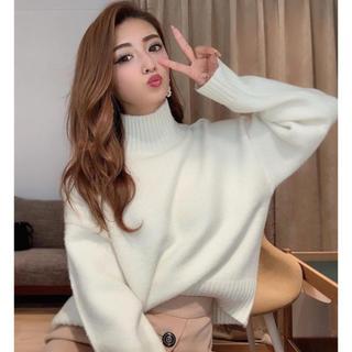 rienda - リエンダ♡ Loose Knit Tart TOP