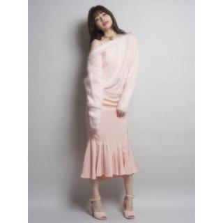 リルリリー(lilLilly)のlilLilly グロッシーマーメイドスカート(ロングスカート)