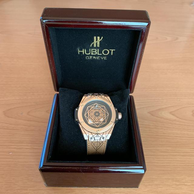 ウブロ偽物紳士 | HUBLOT - HUBLOT GENEVE 腕時計の通販 by e-banbi