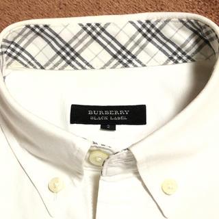 BURBERRY - 超美品バーバリーブラックレーベル シャツ 長袖