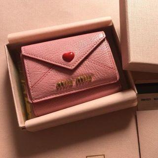 miumiu - ミュウミュウ 大人気ラブレターミニ財布  美品