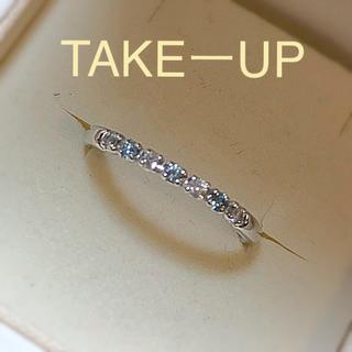 テイクアップ(TAKE-UP)のテイクアップ  リングk14(リング(指輪))