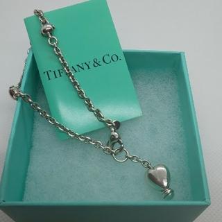 Tiffany & Co. - ティファニー ヴィンテージ ハートチャーム ブレスレット