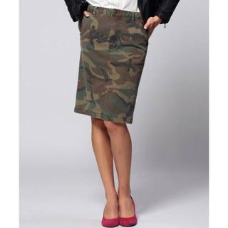 ユナイテッドアローズ(UNITED ARROWS)のユナイテッドアローズ カモフラージュ タイトスカート(ひざ丈スカート)