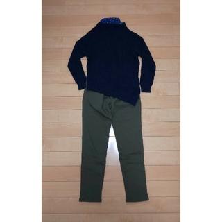 LEPSIM - お値下しました🎵LEPSIM   紺色のセーター