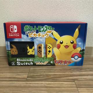 Nintendo Switch - Nintendo Switch ポケットモンスター Let's Go! ピカチュ