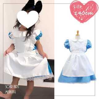 アウトレット⭐︎アリスワンピース ハロウィン140cm(XL) 海外子供服(ワンピース)